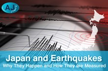 Japan and Earthquakes: Why They Happen and How to Scale Them