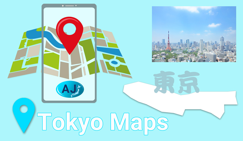 English Maps Of Tokyo All Japan Relocation
