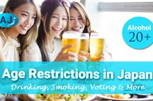 Age Restrictions in Japan: Drinking, Smoking, Voting & More